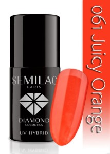 061 Semilac - Juicy orange 7 ml
