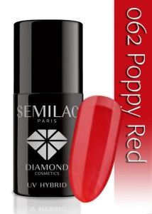 062 Semilac - Poppy red 7 ml