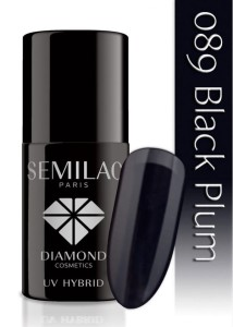 089 Semilac - Black plum 7 ml