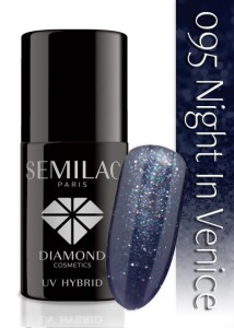 095 Semilac - Night in Venice 7 ml