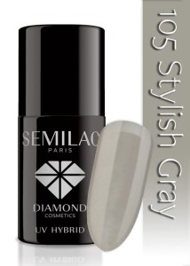 105 Semilac - Stylish gray 7 ml