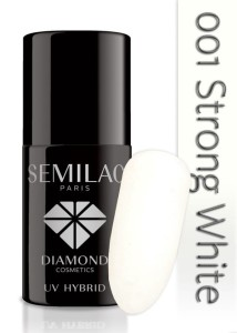 001 Semilac - Strong white 7 ml
