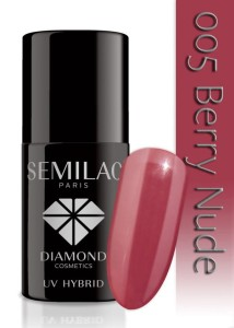005 Semilac - Berry nude 7 ml