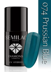 074 Semilac - Prussian blue 7 ml