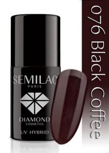 076 Semilac - Black coffee 7 ml