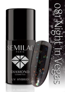 081 Semilac - Night in Vegas 7 ml