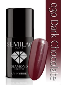 030 Semilac - Dark chocolate 7 ml