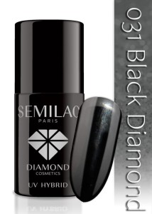 031 Semilac - Black diamond 7 ml