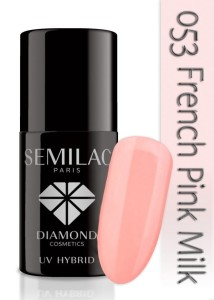 053 Semilac - French pink milk 7 ml