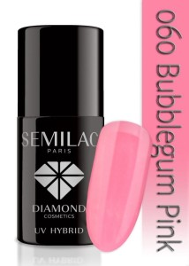 060 Semilac - Bubblegum pink 7 ml