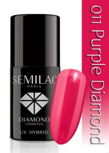 011 Semilac - Purple diamond 7 ml