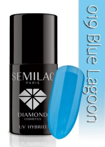 019 Semilac - Blue lagoon 7 ml
