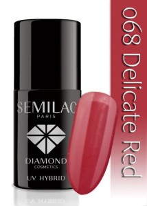 068 Semilac - Delicate red 7 ml