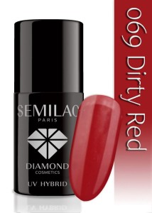 069 Semilac - Dirty red 7 ml