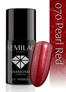 070 Semilac - Pearl red 7 ml