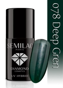 078 Semilac - Deep green 7 ml