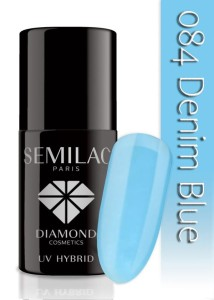 084 Semilac - Denim blue 7 ml