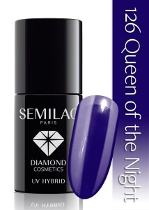 126 Semilac - Queen of the night 7 ml