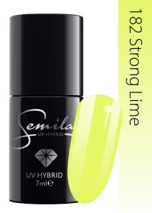 182 Semilac - Strong Lime 7 ml