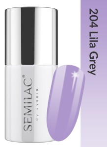204 Semilac - Lila Grey 7 ml