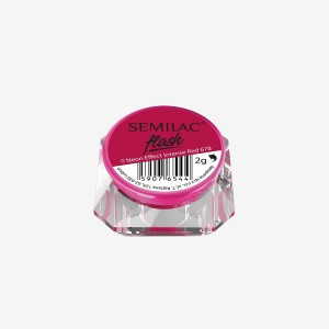 Semilac Neon effect intense red 678